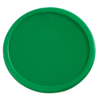 25mm Plain Green Tokens