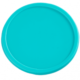 35mm Plain Aqua Tokens