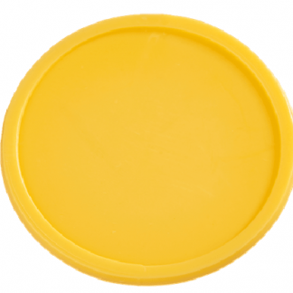 48mm Plain Yellow Tokens