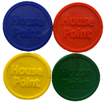 25mm Standard Eco House Point Tokens Image 3
